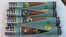 """4 - DC Comics Bombshells 30"""" x 12"""" Felt Pennant (Cryptozoic) - Harley Quinn"""