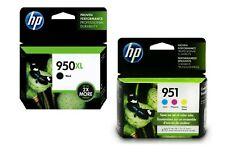 **New** Genuine HP 950XL Black & 951 Color Ink Cartridges : Exp Nov - 2019