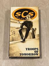 - Rare - Vintage Original 1991 Vhs Santa Cruz Skateboards Troops Of Tomorrow Scs