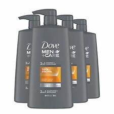 DOVE MEN + CARE 2 in 1 Shampoo & Conditioner Fortifying Shampoo Cleans and Pu...