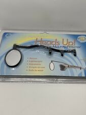 CycleAware Heads Up Eyeglass Mirror Clip on~ Black