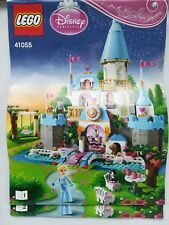 LEGO Disney 41055 - Château Cendrillon  100 % complet comme neuf