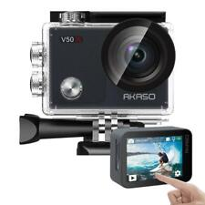 AKASO V50X Native 4K30fps WiFi Action Camera with EIS Touch Screen 4X Zoom...