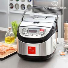 Robot de cocina Inox Cook chef Master Kitchen 12 programas 1 8l.olla programable