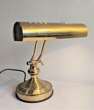 Retro style brass desk lamp - Thames Hospice