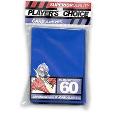 Player's Choice 60 Protèges Cartes Sleeves Standard bleu