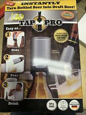 New Tap Pro Turn Bottled Beer Into Draft Instantly As Seen On Tv Nib