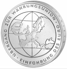 Münzwesen & Numismatika 10-Euro-Gedenkmünzen der BRD aus Silber