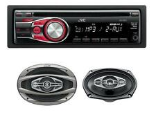JVC kd-r331 Auto Stereo Lettore CD mp3 Aux + JVC cs-hx6948 490w 6x9 4-way Altoparlante