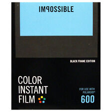 Impossible 600 Type with BLACK Borders - NEW VERSION
