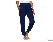 AnyBody Loungewear Petite Brushed Hacci Jogger Pants.  Medium