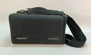 Bose SoundDock Portable Travel Carrying Case Bag Black Music Protective