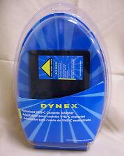 Dynex DX-DA100611 Motorized VHS-C Cassette vhsc to vhs Adapter NEW open box