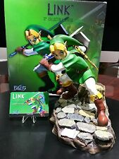 First4Figures Legend of Zelda Ocarina of Time, green link statue, mint with box