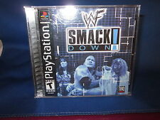 Sony PlayStation WWF Smack Down Video Game