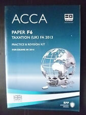 ACCA F5 FM, BPP Revision Kit Exams up to June 2014 (9781445366456)