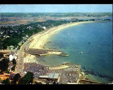 CARNAC (56) VILLAS & PARC à BATEAUX de la GRANDE PLAGE en vue aérienne en 1969