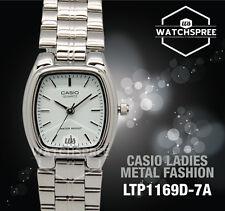 Casio Ltp1169d-7a Womens White Dial Analog Quartz Watch