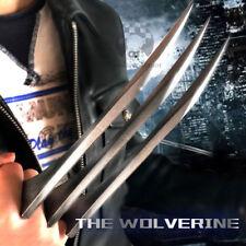 1 Pair X-Men Logan Wolverine Claws ABS Cosplay 1:1 Props Refinement Copy Steel
