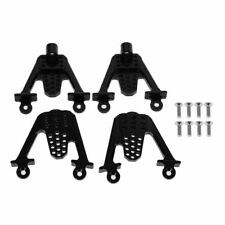 4pcs Aluminum rear/front Shock Mount Set for Axial SCX10 Dingo Honcho Black