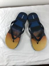Mens Old Navy Flip Flops SIZED 12-13 NEW Beach Themed