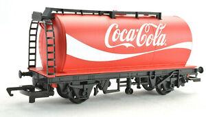 Hornby Coca-Cola Coke OO Gauge Tank Wagon Car Rolling Stock R6933