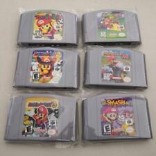N64 GAME Party 123 Mario Kart 64 Super Mario NTSC US/CAN Version