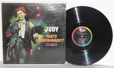 Judy Garland That's Entertainment LP 1960 Mono Capitol Press T1467 Vocal Vinyl