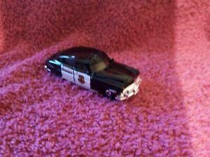 Matchbox - 1-125 - Unboxed - #57 '51 Hudson Hornet Sheriff Car - Black & White
