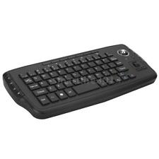 E30 2.4GHz Wireless Keyboard with Trackball Mouse Scroll Wheel Remote H3A5