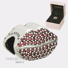 Authentic Pandora Kiss More Lips CZ Charm Gift Set Valentine's Day 2018 B800772