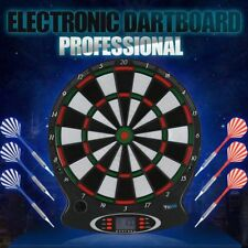 Darts Electronic Touchpad  LCD Display 15 Inch 6 Soft Tip Darts TargetBoard