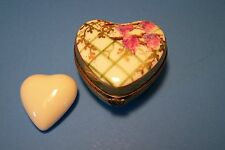 Heart,Grape Vine,With Heart authentic French Limoges Box ( New )