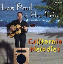 Les Paul, Les Paul & His Trio - California Melodies [New CD]