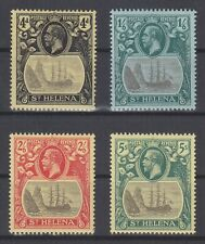 P130876/ ST HELENA STAMPS / SG # 92 / 95 MINT MH CV 148 $