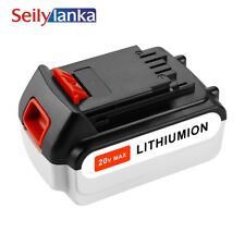 For Black & Decker  4.0Ah 20V MAX Rechargeable Cordless Tool Battery LB20 LGC120