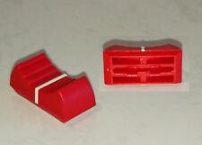 1 Bouton rouge pour potentiomètre linéaire