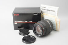 Sigma Zoom 18-200mm f/3.5-6.3 II DC OS HSM Lens, For Pentax K Mount, Boxed