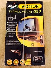 """AVF Vector TV Wall Mount 550 For 13"""" - 21"""" TVs Hard to Find Discontinued Cheap"""
