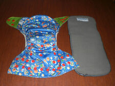 Happy Ending Reusable  Pocket Diaper with Bamboo Insert