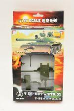 1/ BOX 82105 T-55 MBT W/BTU-55  (2 PER BOX)WOW 1/144 PLASTIC MODEL KIT
