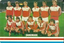 Carte Football DANEMARK Futebol soccer sport trading card