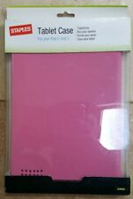 Staples Apple iPad 2 & 3 Tablet Case in Pink NEW