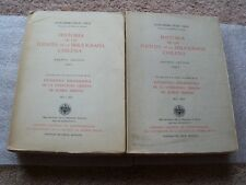 Historia de las Fuentes de la Bibliografia Chilena, Essays on Ramon Briseno, Etc