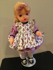 Doll Terri Lee  Blonde  original wig Little Lady 1950's