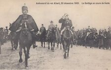 FOREIGN ROYALTY :1909 BELGIUM-Accession of KIng Albert -Le cortege