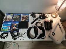 Playstation 4 vr bundle 6 games 3 move controllers and aim contoller