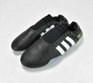 NEW Adidas Taekwondo Women's Shoes--Martial Arts Black with White Stripe