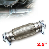 """Heavy Duty Exhaust Flex Pipe Stainless Steel Double Braided 5.91/"""" x 5.12/"""" x 3/"""""""