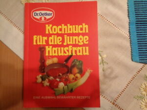 Kochbuch für die junge Hausfrau